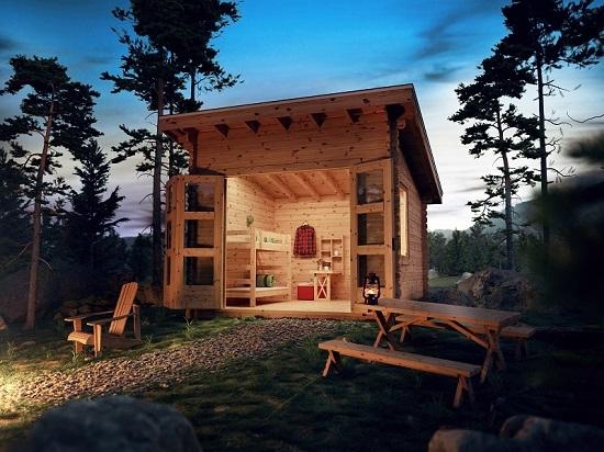 Comment construire une cabane en bois Wiserwood