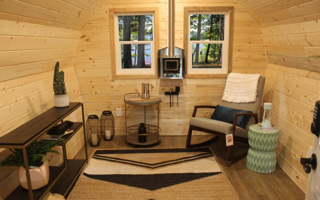 How to Heat Your Mini Cottage With a Wood Stove