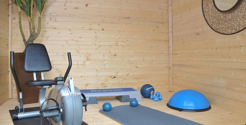 Une salle de loisir dans son jardin grâce aux bunkies en bois