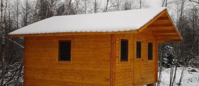 Transformer sa cabane en bois en espace habitable en hiver